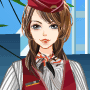 Fashion Stewardess Dress Up